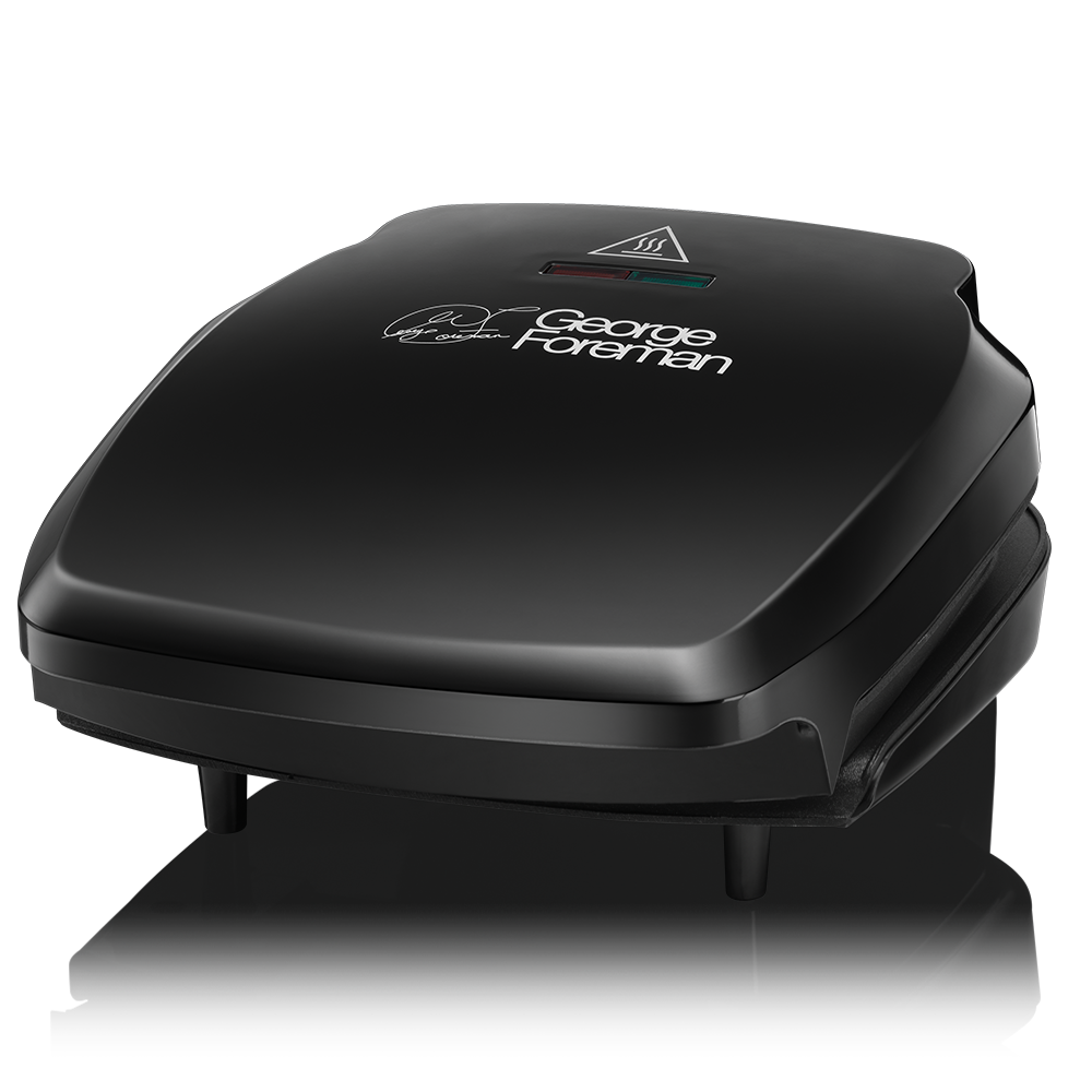 Compact 2 Portion Black Grill 23400 -