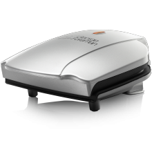 Compact 2 Silver Portion Grill