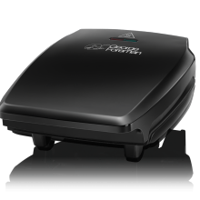 Compact 3 Portion Black Grill