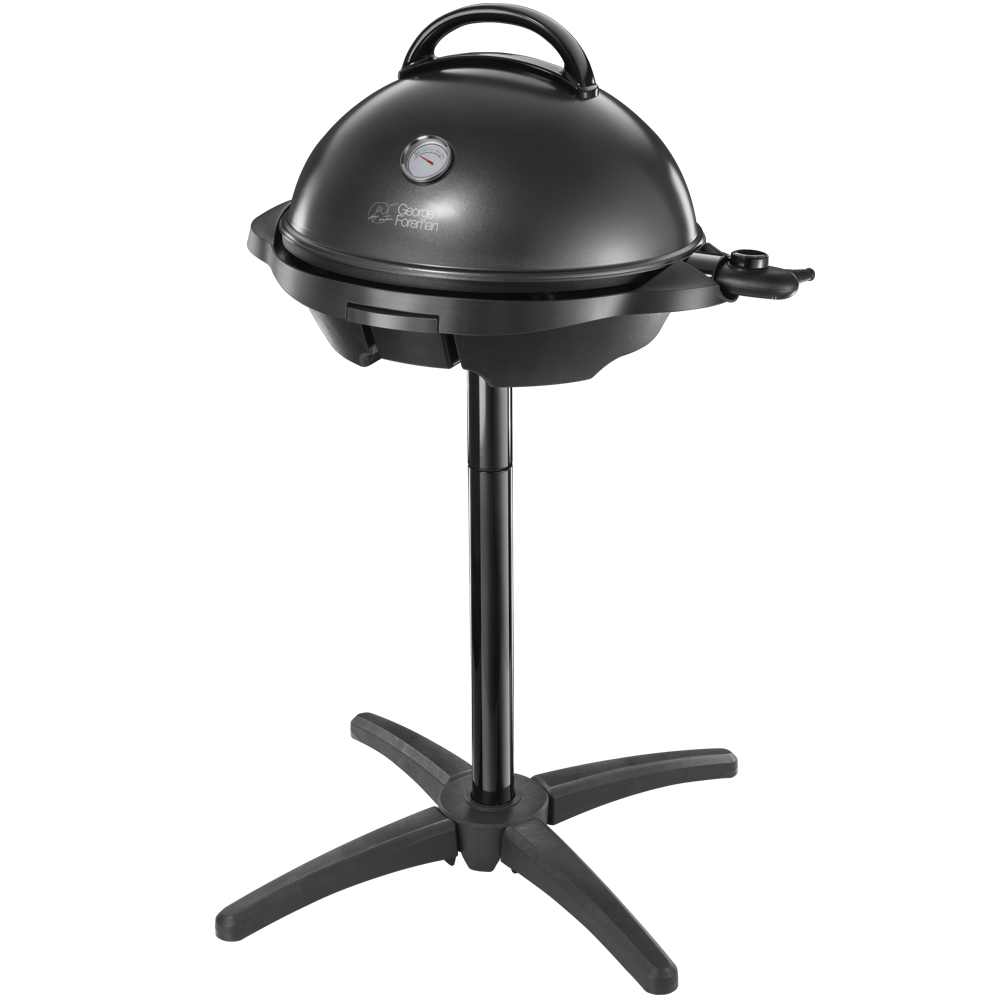 Indoor/Outdoor Black Grill 22460 - With Stand