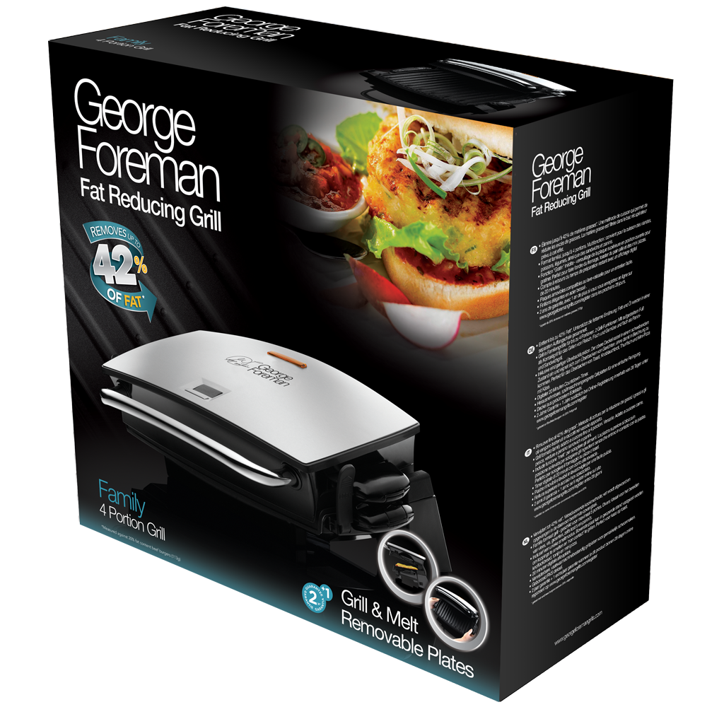 Grill & Melt Fitnessgrill 14525-56 - Pack