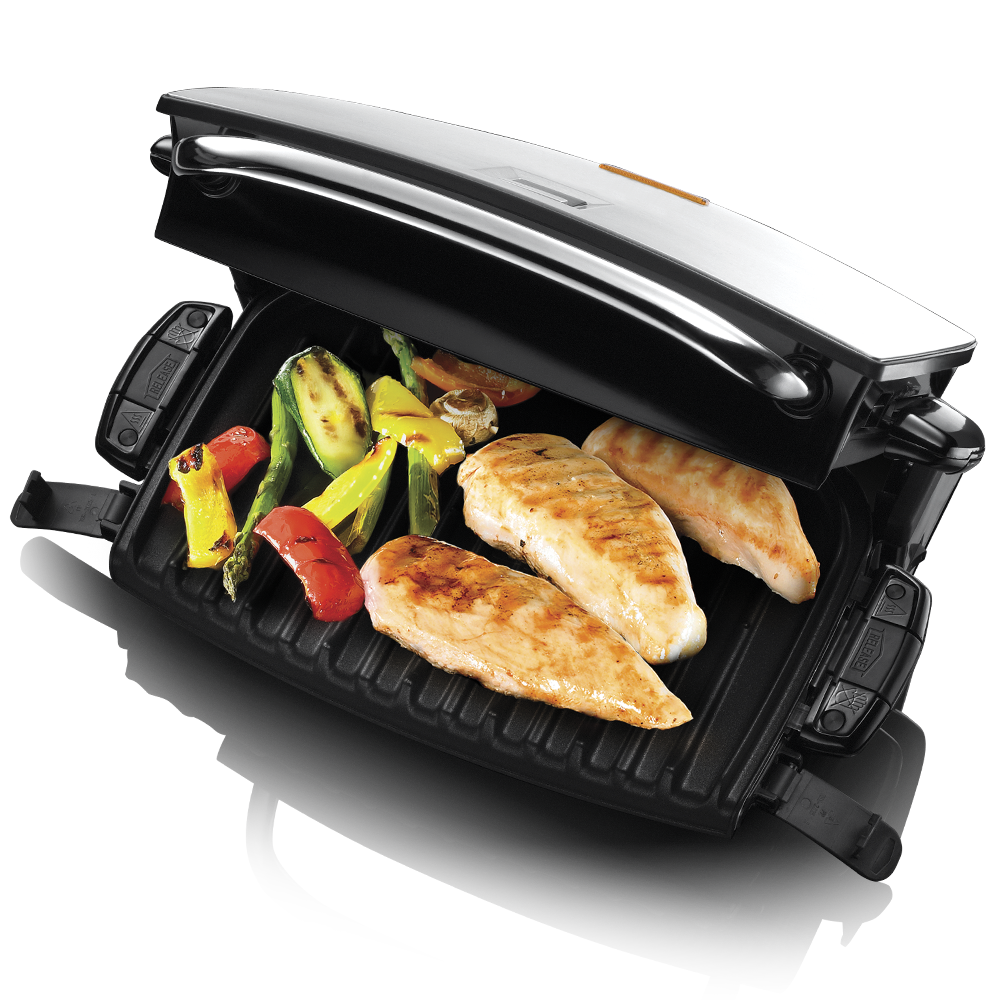 Family Grill & Melt with Removable Plates 14525-56 - Open
