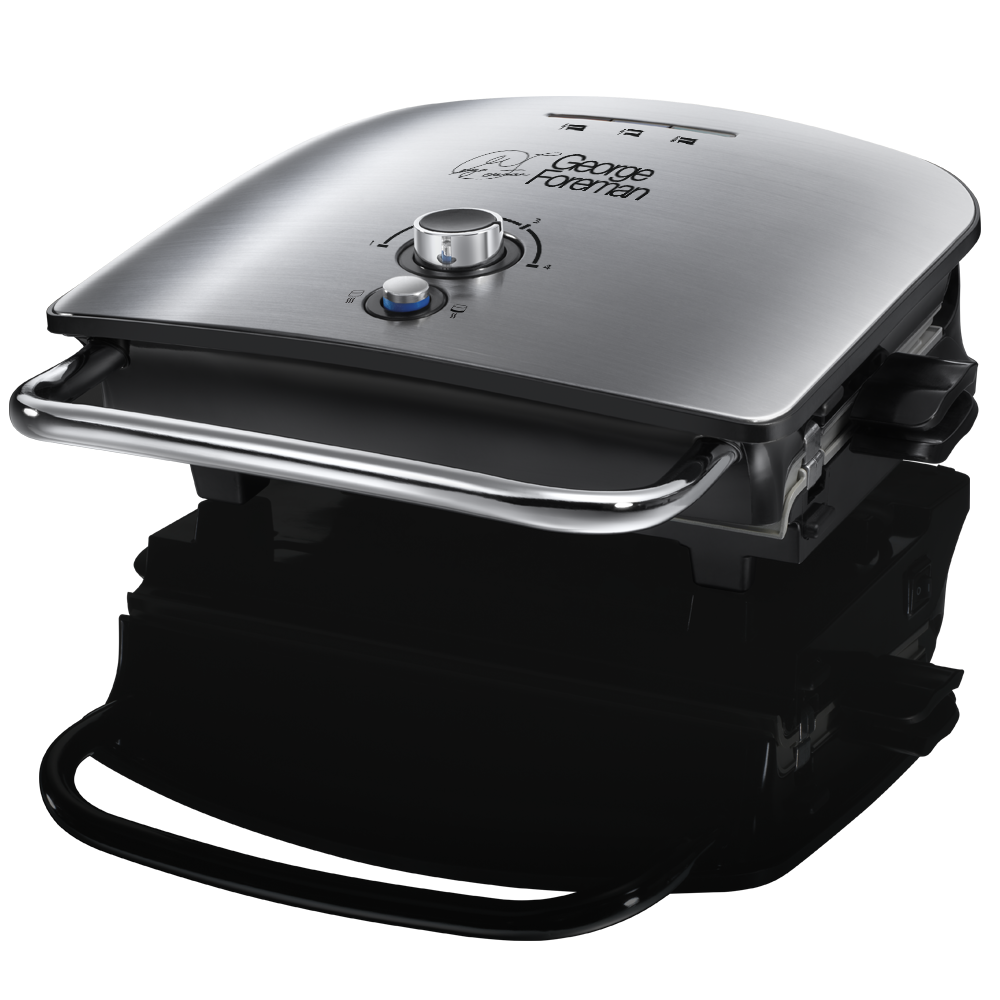 Family 4 portion silver grill and melt advanced george foreman - Buy george foreman grill ...