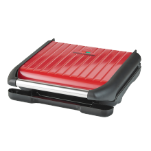 Family 5 Portion Steel Red Grill