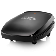 Family 4 Portion Black Grill