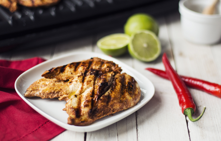 Chilli and Lime Butterfly Chicken