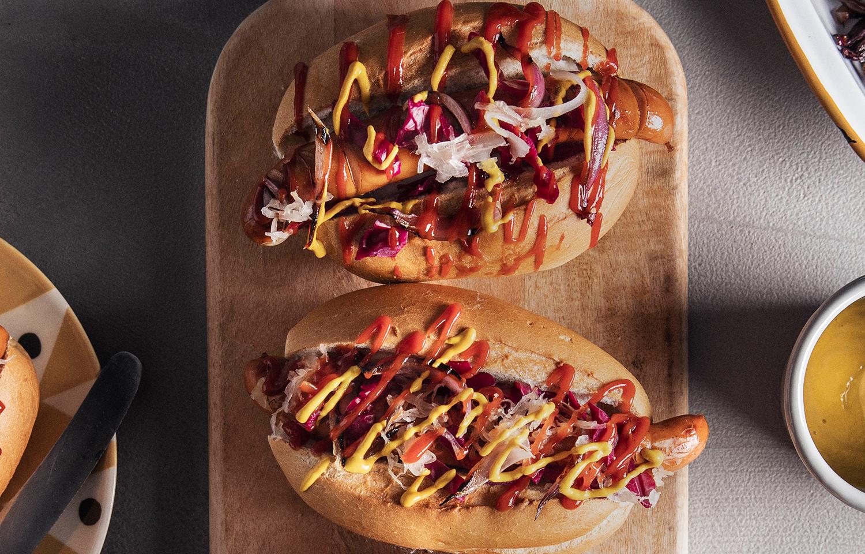 Bratwurst Hot Dogs