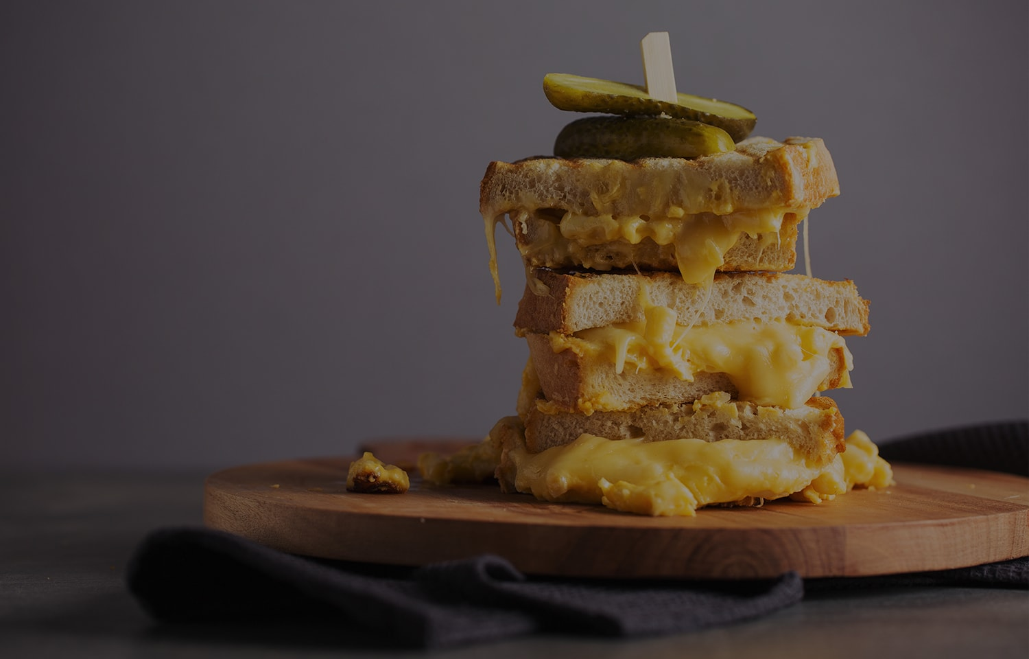 Mac 'n' Cheese Toastie