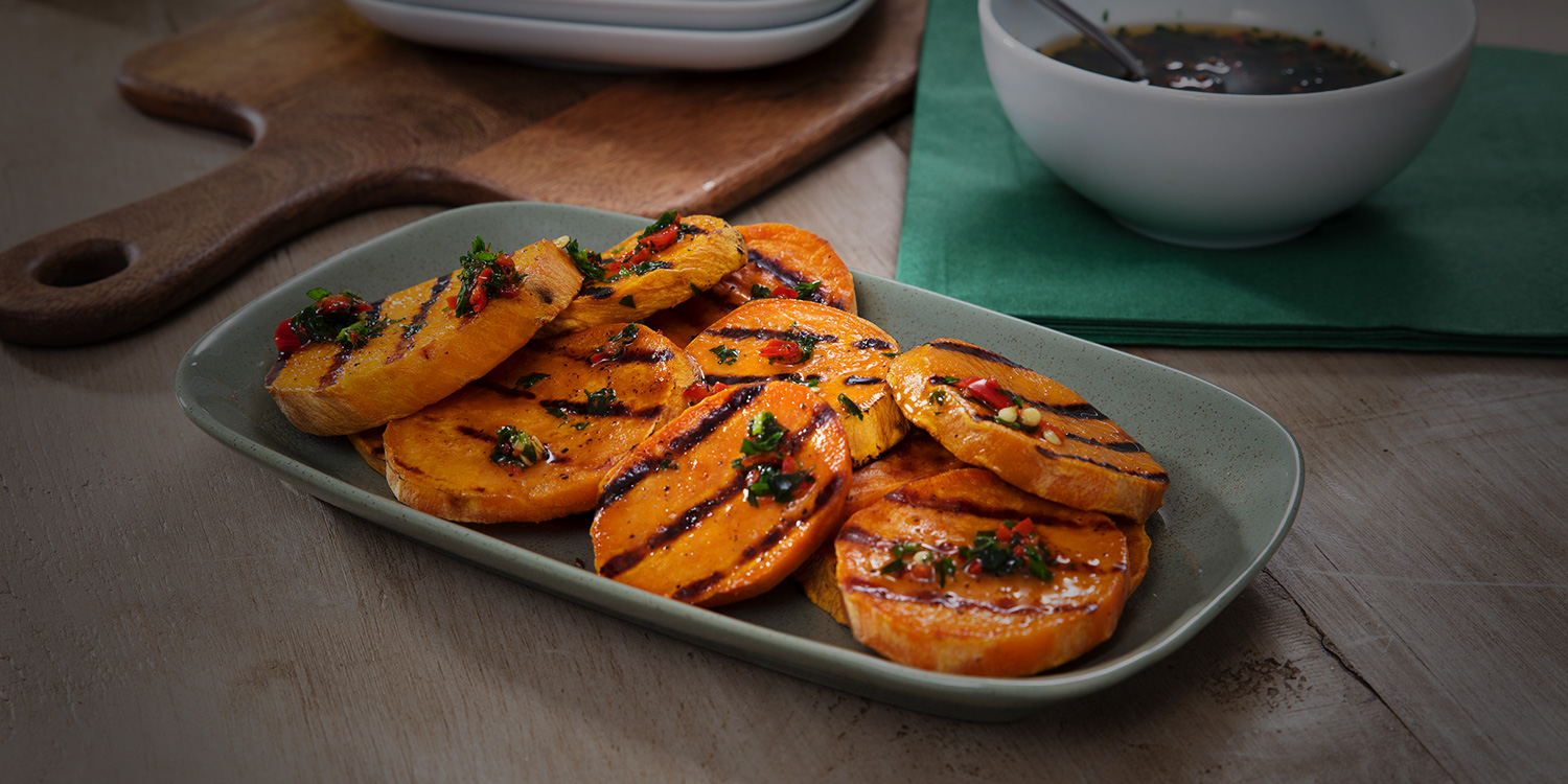 Chilli Grilled Sweet Potato