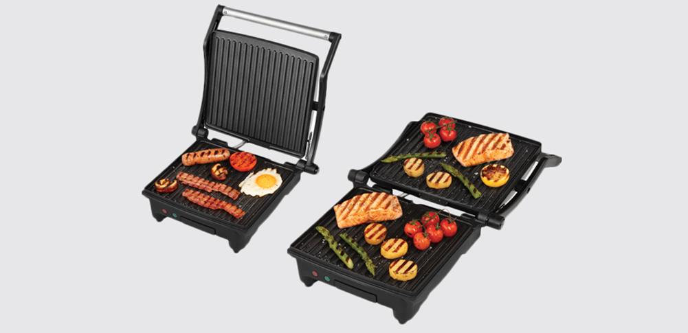 Grill de contact traditionnel ou grill de cuisson horizontal