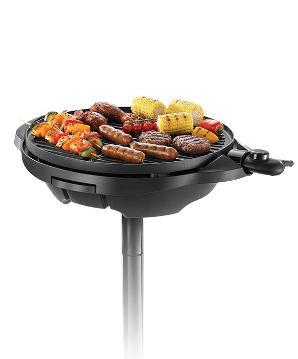 BBQ Stil - Grill für Innen- und Außennutzung