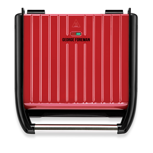 Steel Entertaining Red Grill