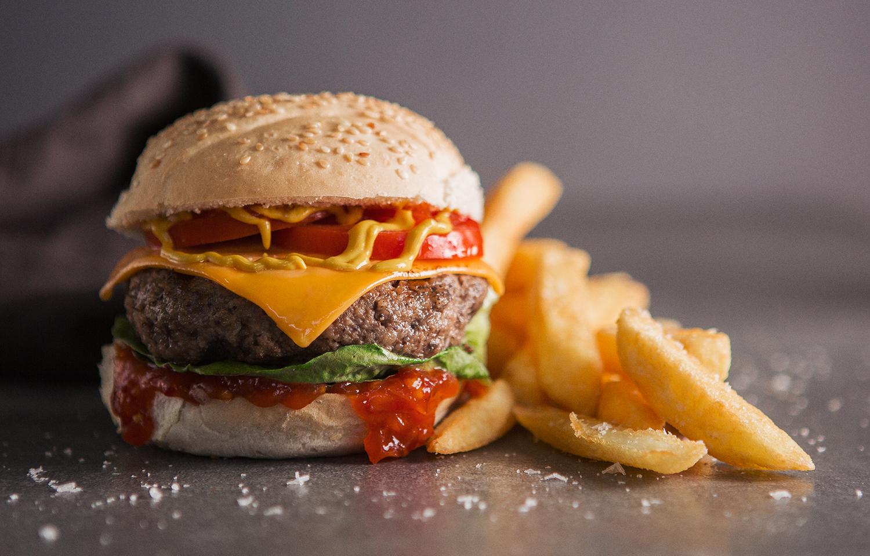 Mushroom Slinger Burger