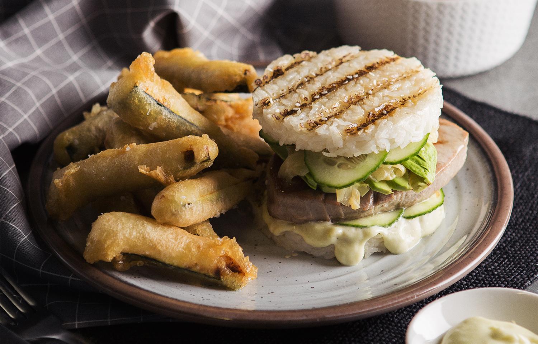 Wasabi Tuna Burger