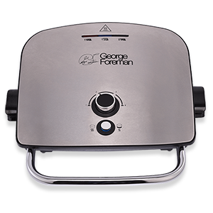 Packshot of Removable Plate Grill and Melt Silver | Medium