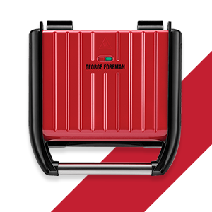 Packshot of Grill Family Steel Red