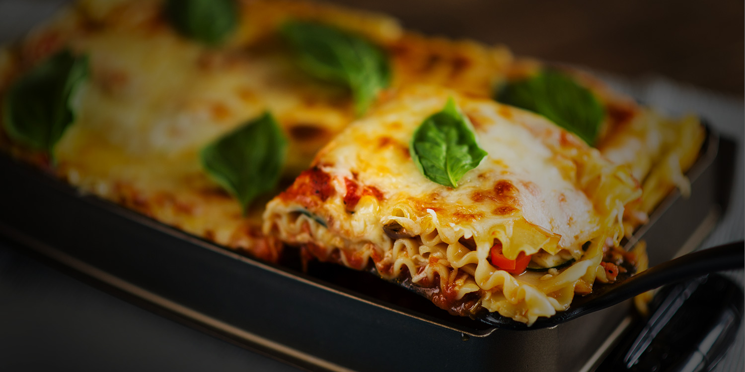 Easy Roasted Vegetable Lasagne