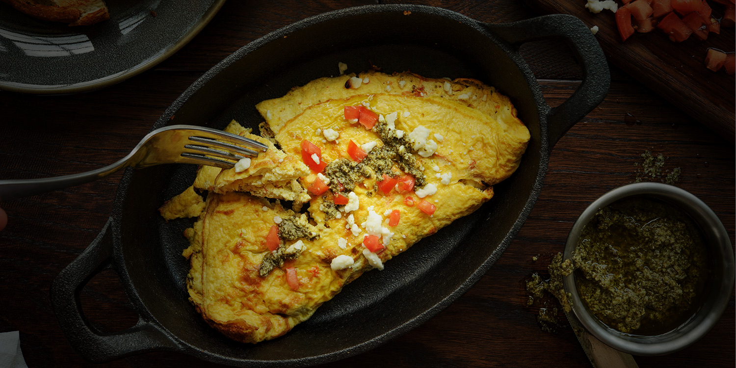 Greek Omelette for Two